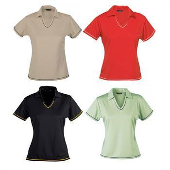 A1611 - Cool Dry Polo Shirt-Ladies