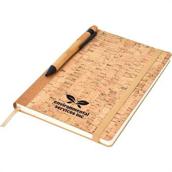 ECO3230 - Corker A5 Notebook