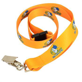 G5015I FColClip - 20mm Lanyard with Full Colour Print-Clip