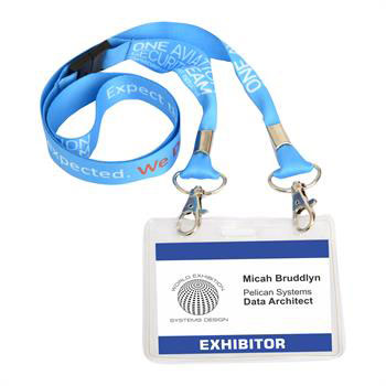 G5015I FColDbl - 20mm Lanyard with Full Colour Print-Dbl