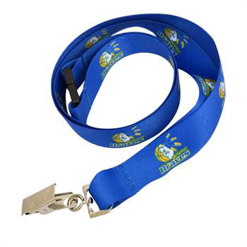 G5019I FColClip - 15mm Lanyard with Full Colour Print-Clip