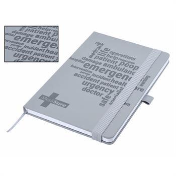J74Sea - Designa Deboss Soft Touch Notebook A5 Sea