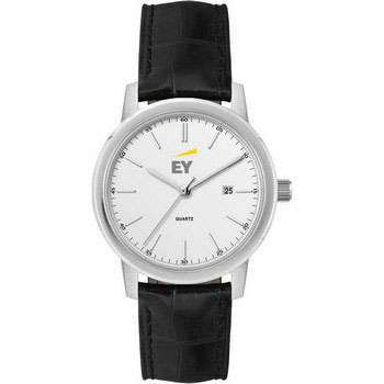 W1060S5-D - Watch, Mens/Ladies-Leather Strap