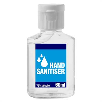 SAN001 - Hand Sanitiser 60ml