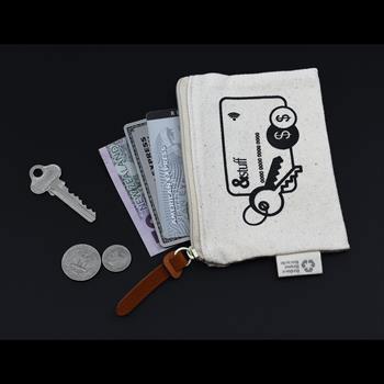Stuffcc1 - Calico Card & Key Pouch - 8.5cmx13cm