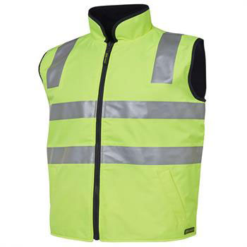 V3000 - Hi-Vis Reversible Safety Vest Day + Night