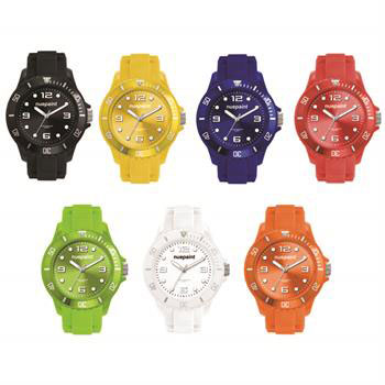 W1962 - Watch, Unisex with Silicone Strap
