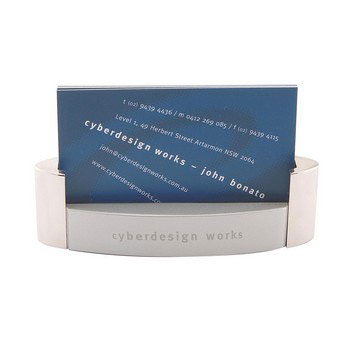 C2201 - Monte Carlo Desk Business Card Holder