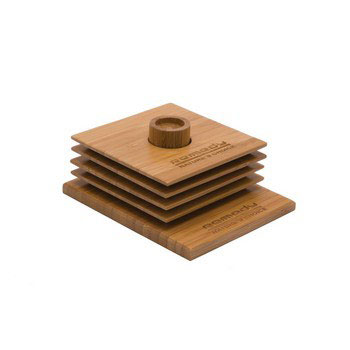ECO1116 - Bamboo Coaster Set