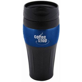 R3502 - Twister Travel Mug, Blue