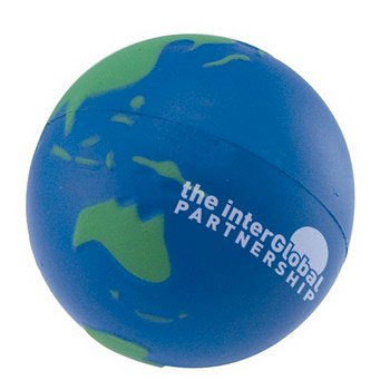 S3002 - Stress Earth Ball, Blue Green