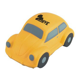 S4120 - Stress Beetle Car, Yellow
