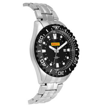 W5107S-SS - Watch, Mens-Stainless Steel Band