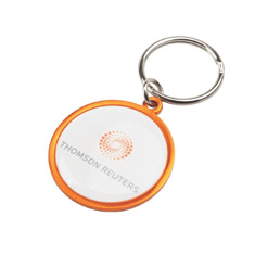 Rainbow Keyring (35mm round)-Indent