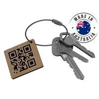 Byron Keyring - QR Code