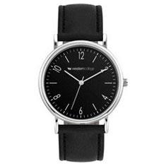 Watch, Unisex-PU Leatherette Strap