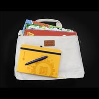 Calico Conference Bag - 28cmx37cmx6cm