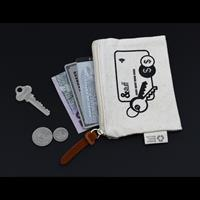 Calico Card & Key Pouch - 8.5cmx13cm