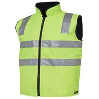 Hi-Vis Reversible Safety Vest Day + Night