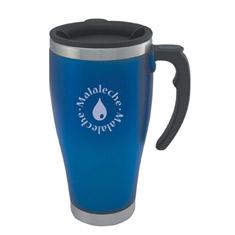 Detroit Travel Mug, Blue