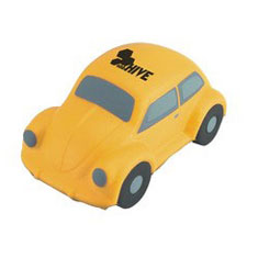 Stress Beetle Car, Yellow