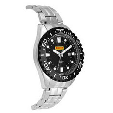 Watch, Mens-Stainless Steel Band